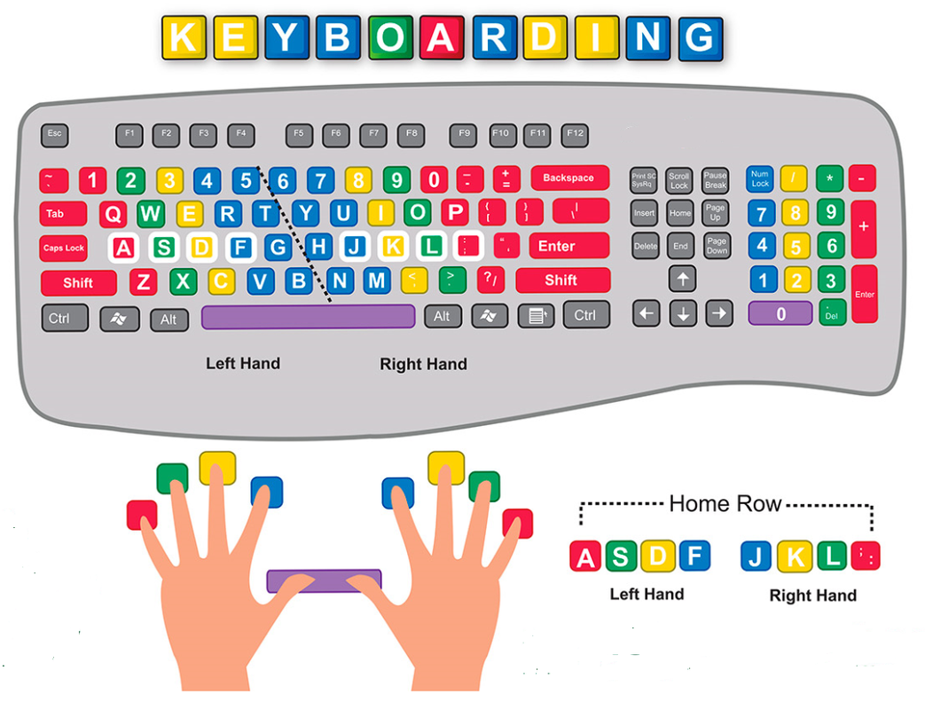 3 Keyboarding Harmony Hills Elementary School Technology Curriculum